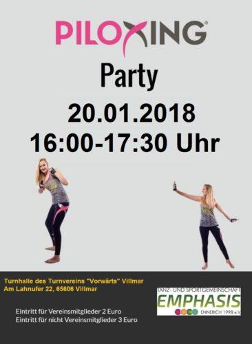Piloxing® Party 20.01.2018